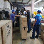 Fabrica ascensores EME en Ecuador en universidad del Azuay