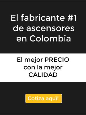 fabricante #1 de ascensores en Colombia