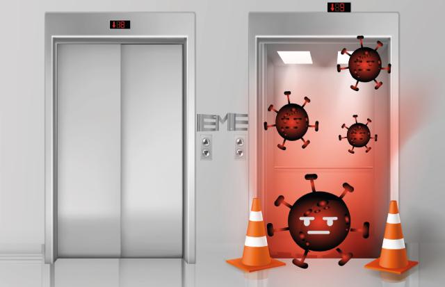 Como usar el ascensor y prevenir contagios