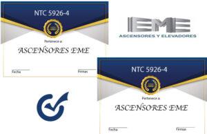inspección normas NTC 5926-4 , NTC 2769-4