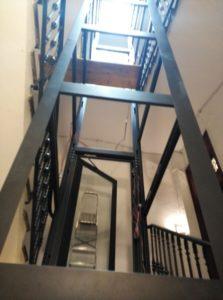 Estructuras autoportantes para ascensores colombia