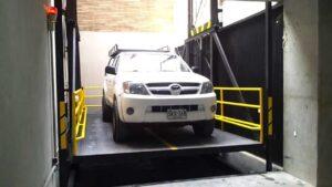 Elevador para carros o duplicadores de parqueo