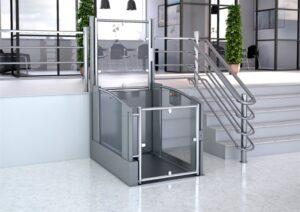 Estructuras salva escaleras soluciones de accesibilidad