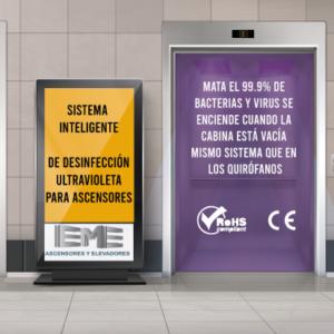 ¿Cómo tener tu ascensor 100% libre de virus y bacterias? Desinfección ultravioleta